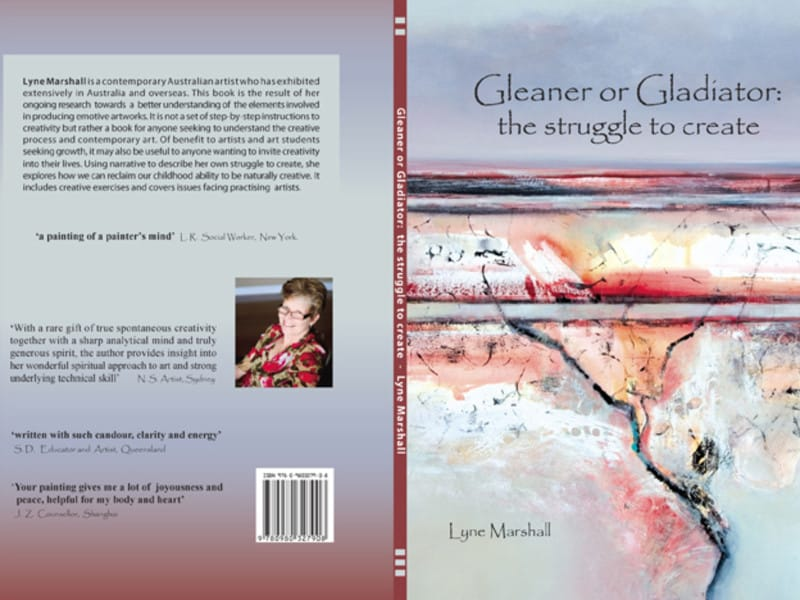 Gleaner or Gladiator by Lyne Marshal -  book cover