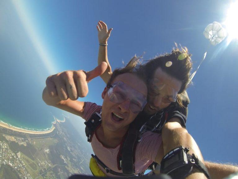 Skydiving Bucket List Dare