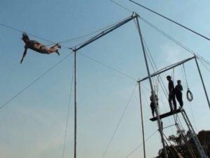 Christian - Trapeze Lesson