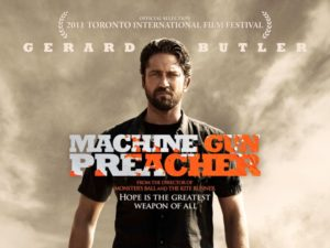 Machine Gun Preacher Movie Poster - Jacqx Film Review