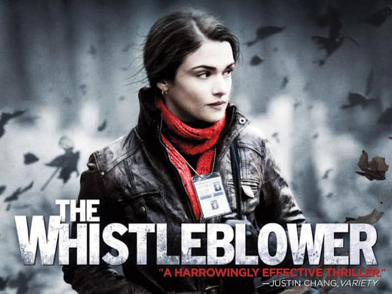 The Whistleblower - Movie Poster - Jacqx Film Review